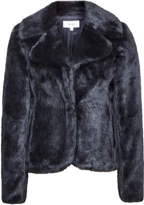 5a71c6b807 Reiss Aila - Faux Fur Jacket in Navy