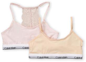 Calvin Klein Girls 7-16) Two-Pack Pullover Bralette