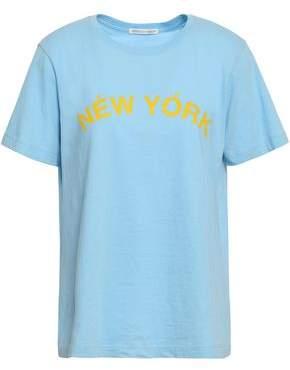 Rebecca Minkoff Delaney Printed Cotton-jersey T-shirt