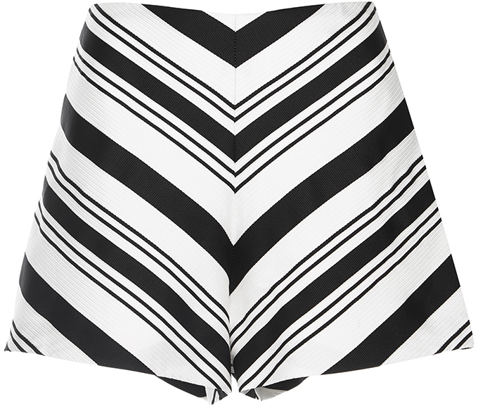 AlexisAlexis Striped Carrie Shorts