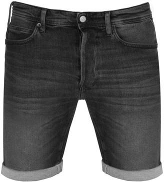 Replay RBJ 901 Denim Shorts Black