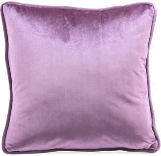 "ZUO Purple Velvet 17.7"" x 17.7"" Decorative Pillow"