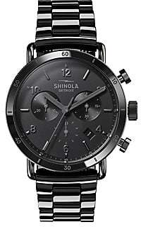 Shinola Canfield Sport Chronograph Bracelet Watch