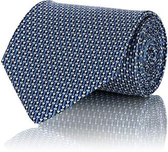 Salvatore Ferragamo Men's Pencil-Motif Silk Necktie