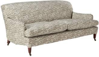 OKA Zhouzhuang Linen Loose Cover For Coleridge 3 Seater Sofa - Taupe