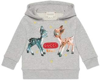 Gucci Baby sweatshirt with fawns