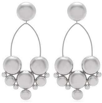 Isabel Marant Hemisphere Earrings - Womens - Silver