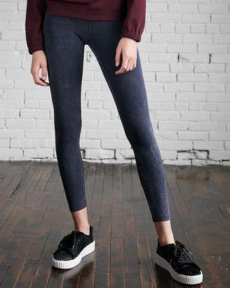 Express High Waisted Sexy Stretch Washed Leggings