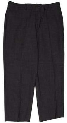 Giorgio Armani Flat Front Casual Pants