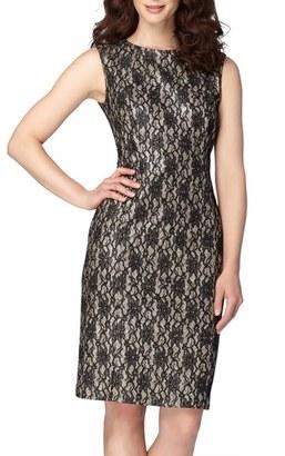 Women's Tahari Lace Sheath Dress $138 thestylecure.com