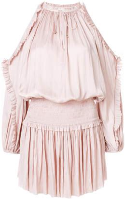 Ulla Johnson cold shoulder dress