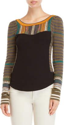 Free People Sweet Gal Thermal Sweater
