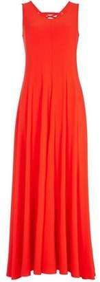 Dorothy Perkins Womens *Roman Originals Red Eyelet Detail Maxi Dress
