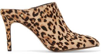 fe3f19cf0b8a5 Sam Edelman Oran Leopard-print Calf Hair Mules - Leopard print