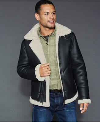 The Fur Vault Shearling Lamb Jacket