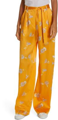 Equipment Evonne Tie Waist Silk Pants
