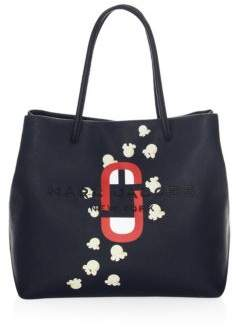 Marc Jacobs Textured Leather Detail Tote
