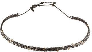 Alexis BittarAlexis Bittar Crystal Spike Choker Necklace
