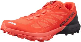 Salomon Unisex S-Lab Sense 6 SG Running Sneakers, Red Mesh, Manmade, Rubber, 10 D
