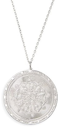 Women's Lulu Dk Always Choose Love Pendant Necklace $98 thestylecure.com