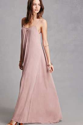 FOREVER 21+ Boho Me Maxi Dress $48 thestylecure.com
