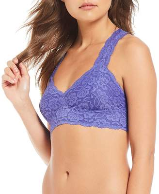 Intimately FP Scalloped Floral Galloon Lace Racerback Bralette