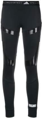 adidas by Stella McCartney logo fitted leggings