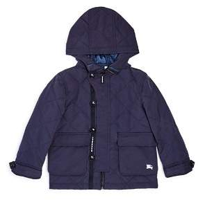 Burberry Boys' Doug Quilted Hooded Coat - Little Kid, Big Kid