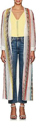 Missoni Mare Women's Geometric Crochet Open-Front Cardigan
