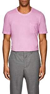 Massimo Alba Men's Panera Watercolor-Dyed Cotton T-Shirt - Pink
