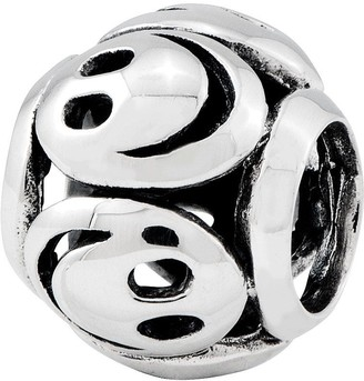Prerogatives Sterling Smiley Face Bead