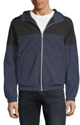 Colorblock Full-Zip Jacket