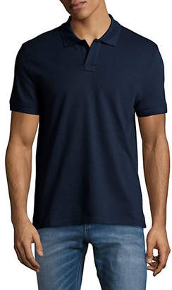 Tiger of Sweden Embroidered Logo Polo