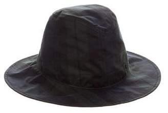 Maison Michel Plaid Rain Hat w/ Tags