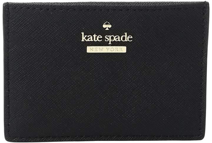 Kate Spade Cameron Street Card Holder Wallet - BLACK - STYLE