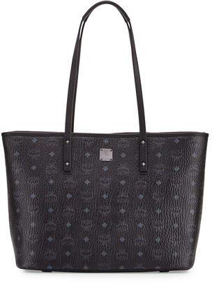 MCM Anya Medium Top-Zip Shopper Bag