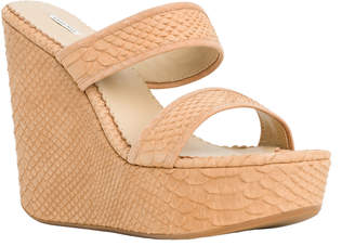 Max Studio fondle :two strap wedges
