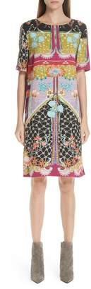 Etro Multi Print Tunic Dress