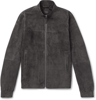 Theory Radic Tremont Suede Jacket
