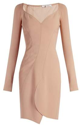 Givenchy Sweetheart Neckline Crepe Dress - Womens - Nude