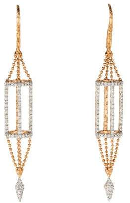 Phillips House 14K Diamond Cage Apogee Earrings