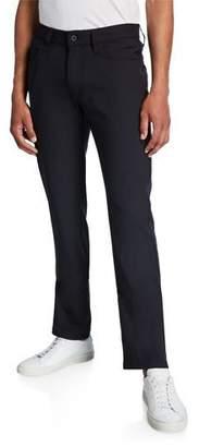Emporio Armani Men's J15 Techno-Stretch Straight-Leg Pants