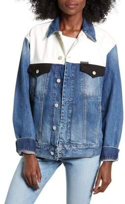 Calvin Klein Jeans Colorblock Trucker Jacket