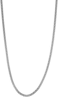 14k Gold Popcorn Chain Necklace