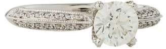 Marchesa 18K Diamond Engagement Ring