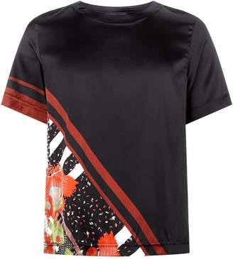 Meng Silk Floral Print Pyjama Top
