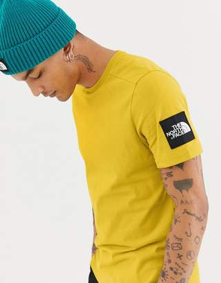 The North Face Fine 2 T-Shirt in Yellow