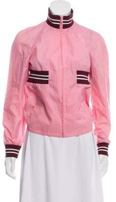 Miu Miu Casual Zip-Up Jacket
