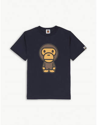 A Bathing Ape Baby Milo cotton-jersey T-shirt 4-8 years