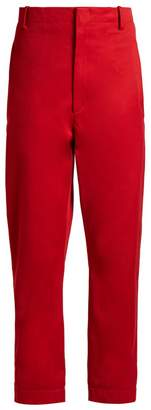 Etoile Isabel Marant Dysart high-rise chino trousers